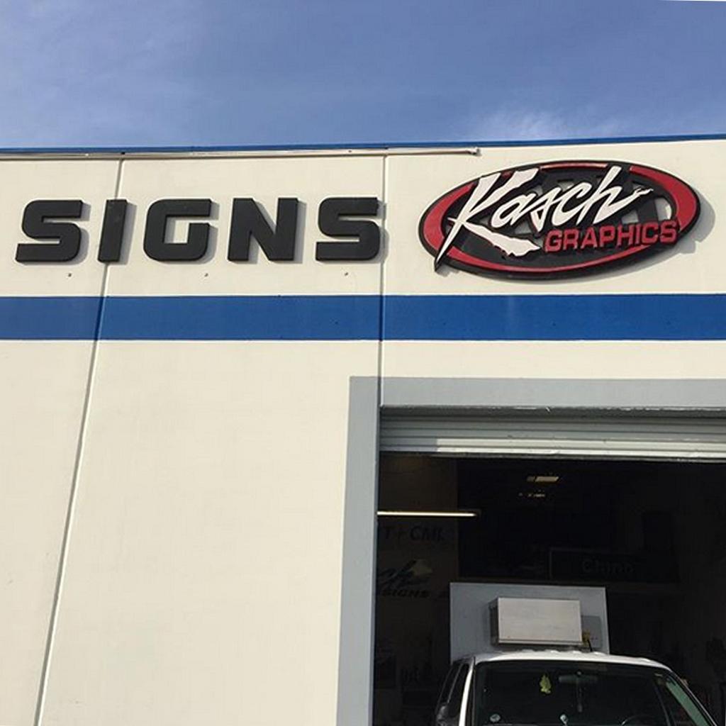 Kasch Studio Sign