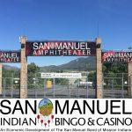 San Manuel Casino Exterior Signs