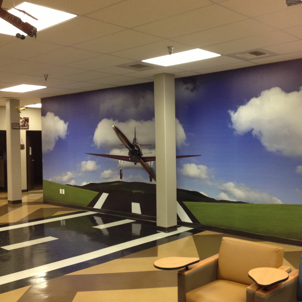 Business Wall Graphic